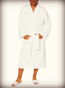 "Classymassages"" Robe and Slippers"